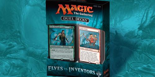 Magic the Gathering - Duel Deck - Elves Vs. Inventors - Wizard of the Coast