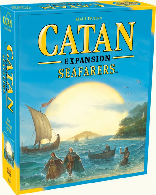 CATAN - Seafarers Board Game Expansion - Catan Studios