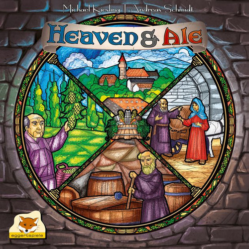 Heaven and Ale - A Frothing Good Board Game - Eggertspiele