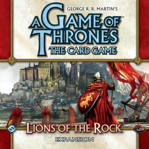 A Game of Thrones - The Card Game - Lions of the Rock - Deluxe Expansion