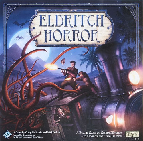 Eldritch Horror - The Core Base Game - Cooperative Board Game- Fantasy Flight