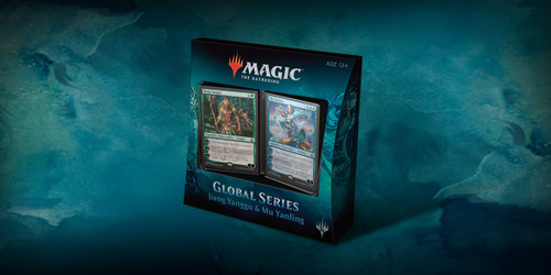 Magic the Gathering - Global Series Deck - Jiang Yiangg vs. Mu Yanling - Wizard of the Coast