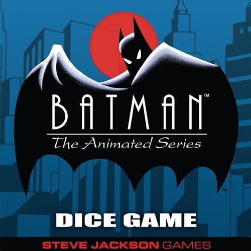 Batman - The Animated Series - Dice Game - Steve Jackson Games