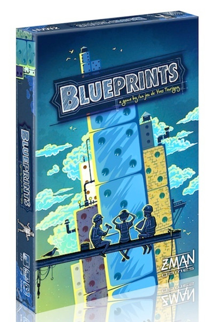 Blueprints - The Dice Building Game - Z-Man Games