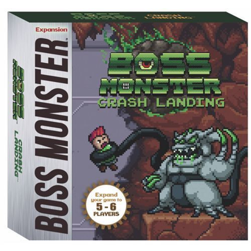 "Boss Monster - ""Crash Landing""  5-6 Player Mini-Expansion"