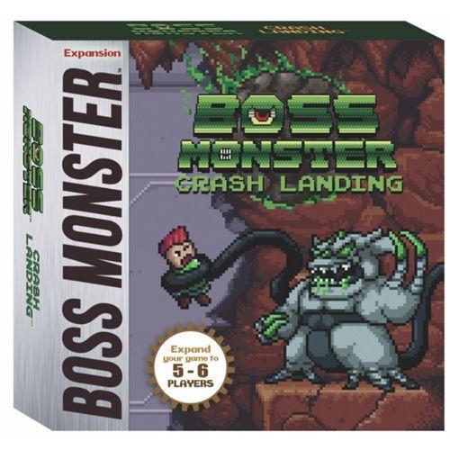 """Boss Monster - """"Crash Landing""""  5-6 Player Mini-Expansion"""
