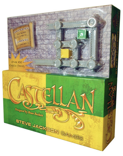 Castellan - International Edition - Board Game - Steve Jackson Games