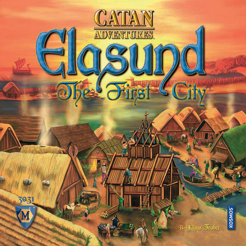 CATAN Adventures - Elasund - The First City of Catan - Board Game - Mayfair Games