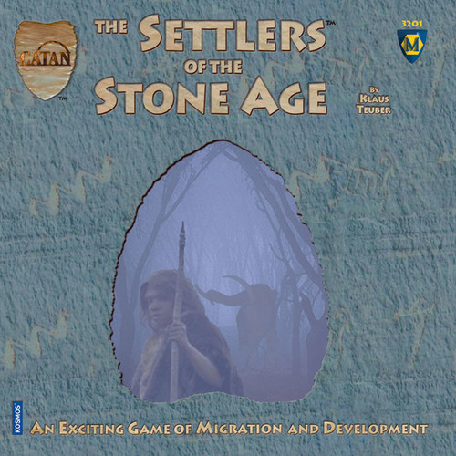 CATAN Histories - The Settlers of the Stone Age - Board Game - Mayfair Games