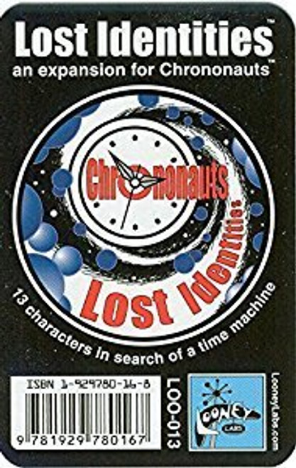 "Chrononauts - ""Lost Identities - Expansion Pack #1 - Looney Labs"