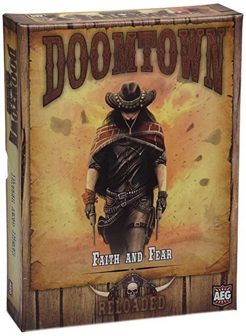Doomtown Reloaded - Expandable Card Game - Faith and Fear - Pine Box Expansion