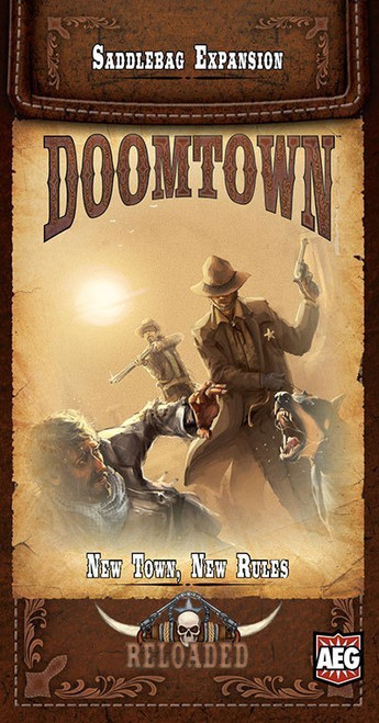 Doomtown Reloaded - Expandable Card Game - New Town, New Rules -  Saddlebag Expansion