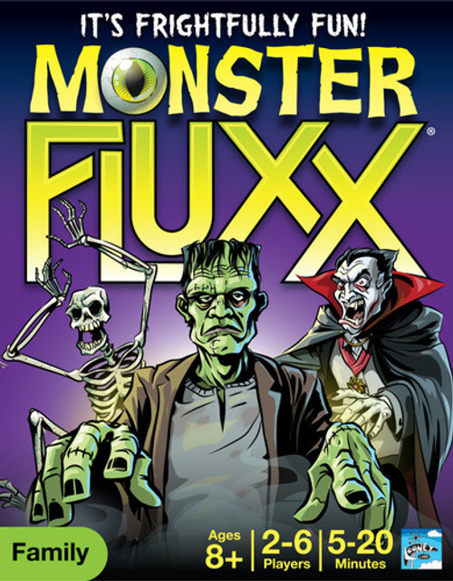 Looney Labs - Monster Fluxx - The Card Game - LOO057