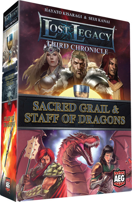 Lost Legacy - Third Chronicle - Sacred Grail & Staff of Dragons - Card Game - AEG