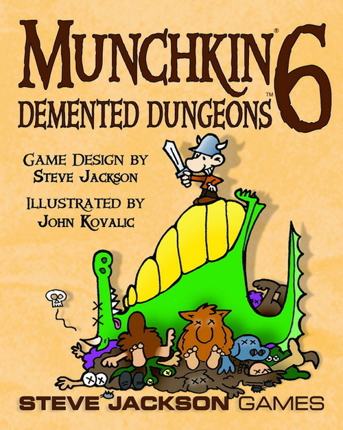 Munchkin 6 - Demented Dungeons Card Game Expansion