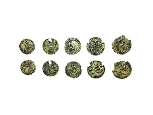 """Norse Foundry - Adventure Coins - Variety Pack  (Set of 10) """"Orc and Goblins"""""""