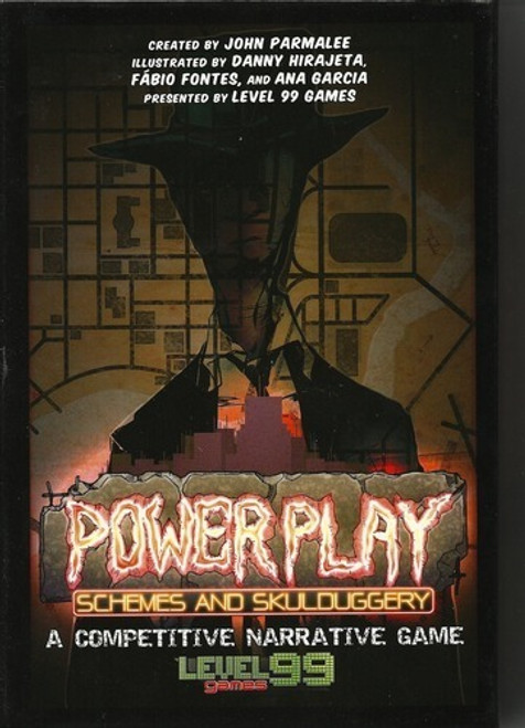 Power Play - Schemes And Skullduggery - Board Game - Level 99 Games