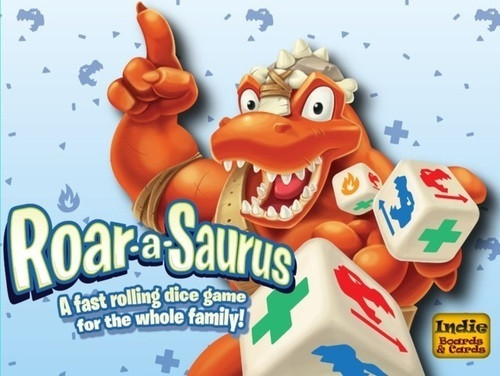 Roar-A-Saurus - A Fun and Fast Rolling Dice Game - Indie Boards & Cards