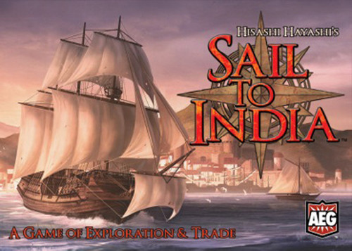 Sail to India Card - Game - AEG