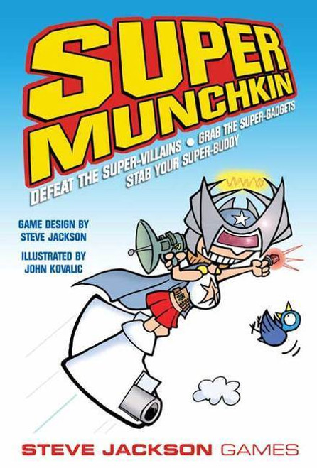 Super Munchkin (Base Game) - The Card Game - Steve Jackson Games