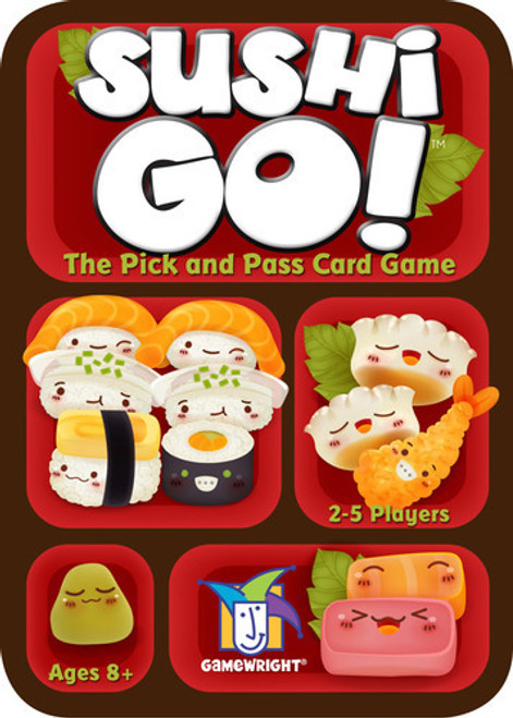 Sushi Go! The Fast Playing Card Game - Gamewright Games