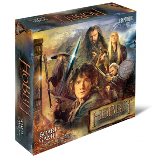 The Hobbit - The Desolation of Smaug - The Board Game - Cryptozoic Entertainment