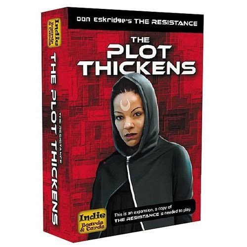 The Resistance - The Plot Thickens - Card/Board Game - Expansion - Indie Cards & Boards