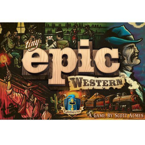 Tiny Epic Western - A CardGame - Gamelyn Games