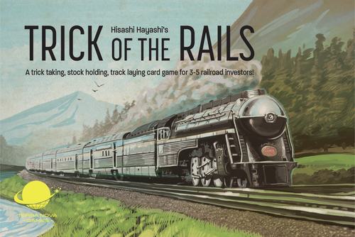 Trick of the Rails - Card Game - Mr. B Games