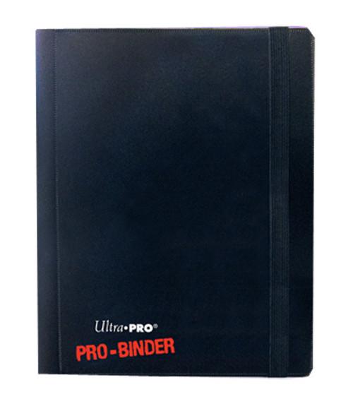 Ultra Pro - 4-Pocket Pro Binder - Holds 160 cards - Black