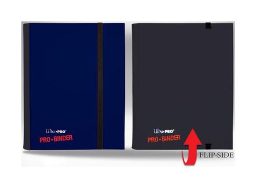 Ultra Pro - 4-Pocket Pro Binder - Reversible - Holds 160 cards - Black & White