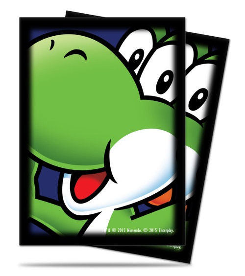 Ultra Pro Deck Protector - Std Size Sleeves - 65 Count - Super Mario - Yoshi