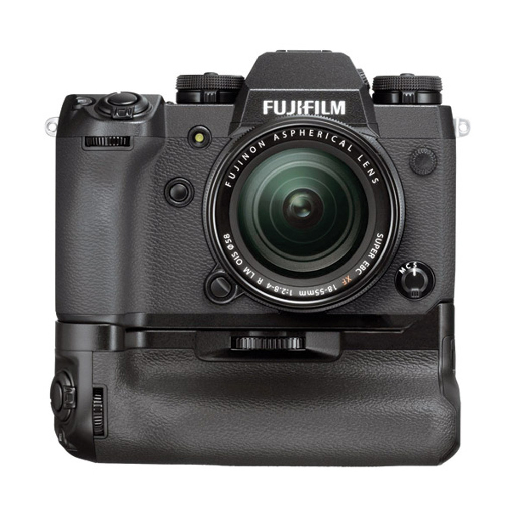 NEW - Fujifilm X-H1 Kit w/Vertical Power Booster & 2 x NP-W126S Batteries - Save $360