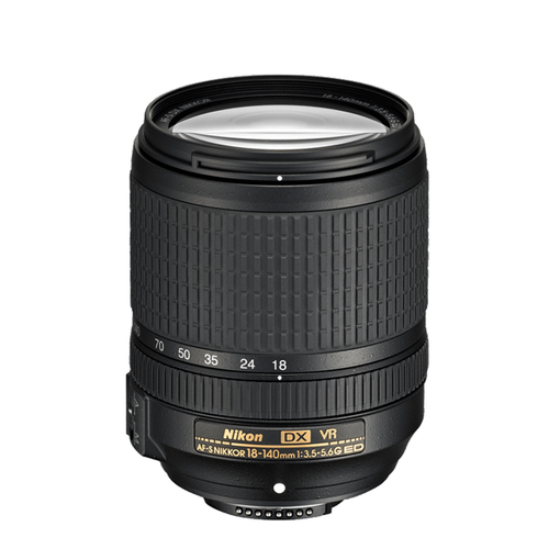 AF-S DX Nikkor 18-140mm f/3.5-5.6G ED VR - Save $20