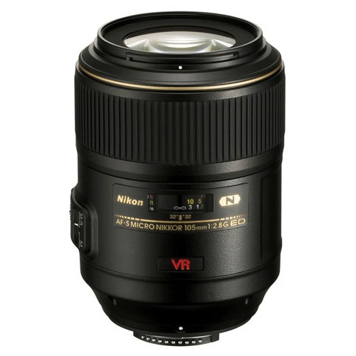 AF-S Micro Nikkor 105mm f/2.8G VR IF-ED - Save $50