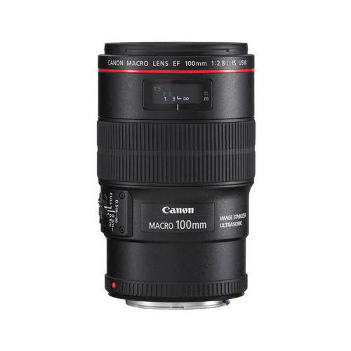 Canon EF 100mm f/2.8 Macro IS L Series - Save $360