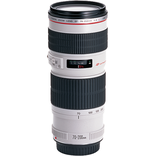 Canon EF 70-200mm f/4 USM L Series - Save $230