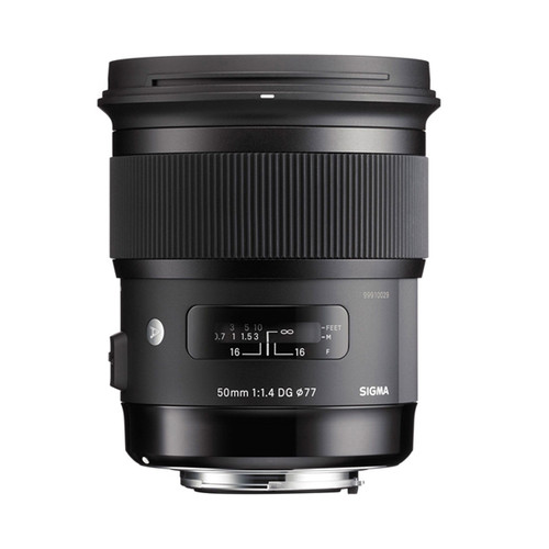 Sigma ART 50mm f/1.4 DG HSM - Save $100