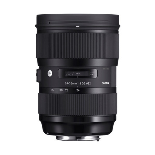 Sigma ART 24-35mm f/2 DG Lens - Save $300