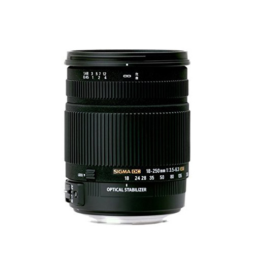 Sigma 18-250mm f/3.5-6.3 DC (OS) Macro HSM - Save $100