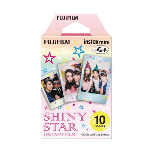 Fuji Instax Mini Film - Shiny Star - Save 50%