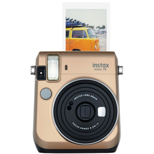 Fuji Instax Mini 70 - Gold - Save $30