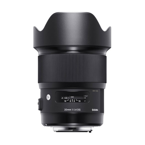 Sigma ART 20mm f/1.4 DG HSM - Save $100