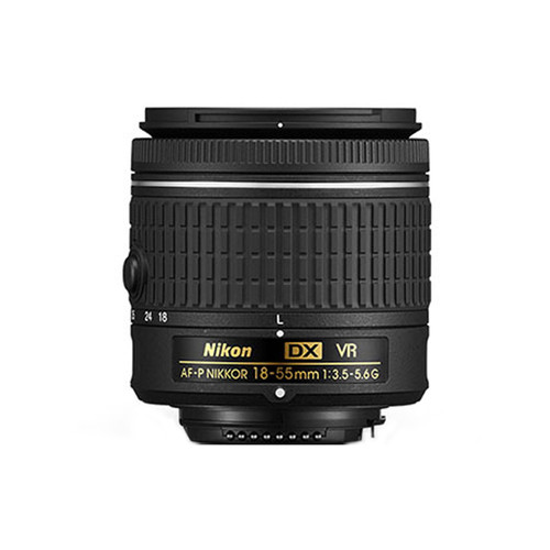 AF-P DX Nikkor 18-55mm f/3.5-5.6G VR - Save $30.00