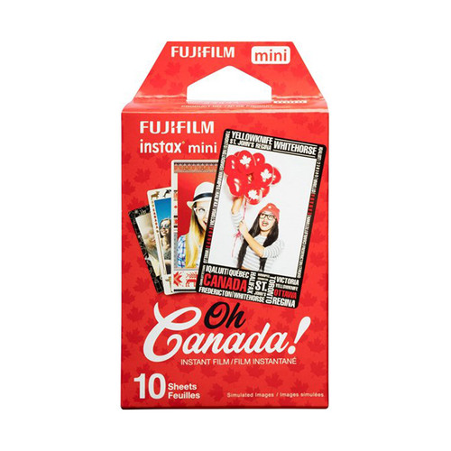 Fuji Instax Mini Film - Oh Canada - Save 50%
