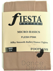 Footless Tights in Flesh Pink