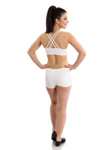 Energetiks Double Cross Crop Top Ladies Dancewear