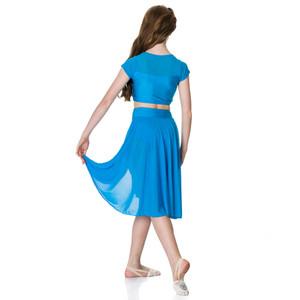 Studio 7 Dancewear Inspire Mesh Skirt Girls