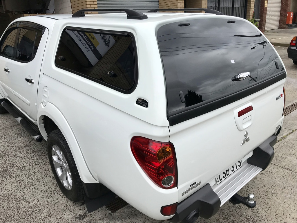 ... UNIUTE SERIES 3 FULL OPTION CANOPY (MITSUBISHI TRITON MN 2009+) ... & Premium Canopies for Mitsubishi Triton MN in Stock in Melbourne
