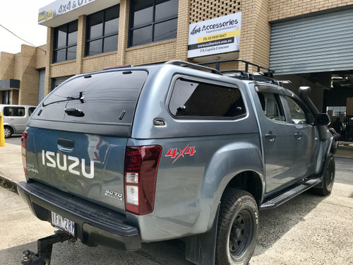 UNIUTE SERIES 3 CANOPY (ISUZU D-MAX 2012+ & 2015+) SIDE LIFT WINDOWS
